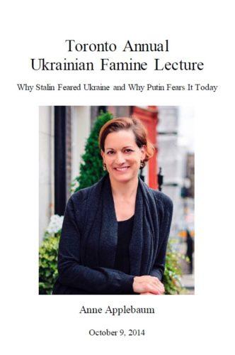 Main image 2014 Toronto Annual Ukrainian Famine Lecture