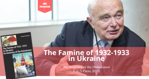 """Main image """"The Holodomor: 85 Years Later"""" Danyliw Research Seminar on Contemporary Ukraine"""