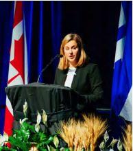 Main image Unveiling of Toronto's Holodomor Memorial Parquette Exhibition Place, Toronto